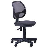 Крісло комп'ютерне дихаюче Чат без підлокітників сітка