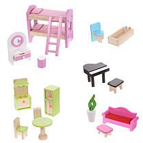 Большой игровой кукольный домик 4110 Fairy + 4 куклы, фото 2