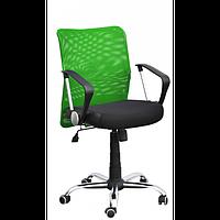 Крісло комп'ютерне дихаюче Аеро LВ хром сітка