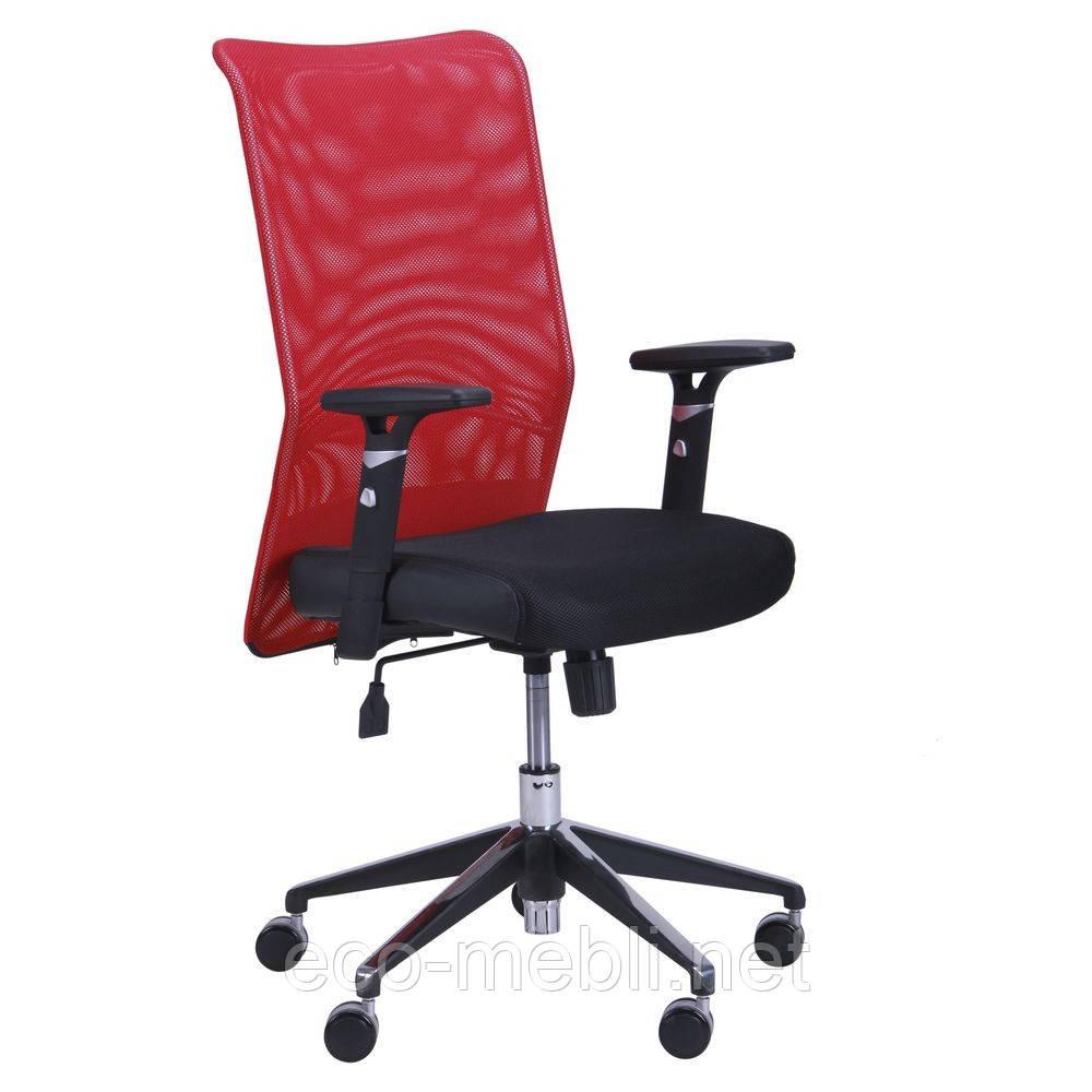 Крісло комп'ютерне дихаюче Аеро Люкс хром сітка