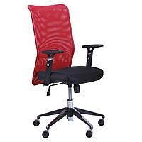 Крісло комп'ютерне дихаюче Аеро Люкс хром сітка, фото 1