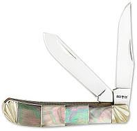 Нож подарочный складной эксклюзив 27152 BST ракушка мрамор MHR /0-11