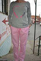Пижама женская Lemila серая
