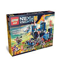 Конструкторы  Nexu, типа Лего, 1110 деталей. Конструктор Nexu Knights 14006, Аналог Lego 70317