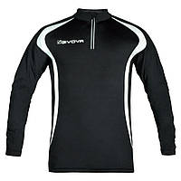 Кофта для бега Givova Running Long Shirt Черный, M