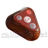Четырех-кнопочная кнопка вызова официанта R-134 Brown RECS USA