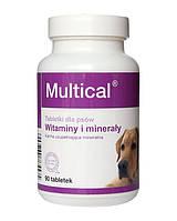 Мультикаль (Multical) витаминно-минеральный комплекс для собак 90 табл.,140 гр.
