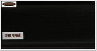 Плинтус 85 мм венге черный