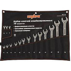 Набор комбинированных ключей OMBRA OMT16S 8-32 мм 16 пр