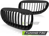 Решетка радиатора тюнинг ноздри BMW E63 E64 черный мат