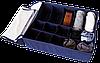 Двойной органайзер для белья с крышкой ORGANIZE (Джинс), фото 3