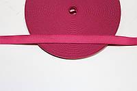 Резинка декоративная 15мм (25м) малиновый
