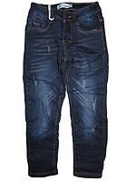 Джинсовые брюки на флисе для девочек оптом, F&D, 116,122,128,134,140,146 рост, арт. DY-1895
