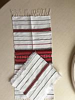 Набір святкових серветок тканих в українському стилі