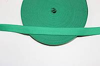 Резинка декоративная 15мм (25м) зеленый , фото 1
