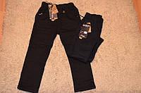 Утепленные котоновые брюки на флисовой подкладке для мальчиков Sincere 98-128см