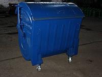Евроконтейнер для бытовых отходов окрашенный 1100 литров