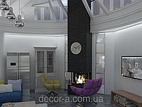 Дизайн комнаты, всей квартиры или дома.