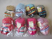 Детские варежки на теплой подкладке.