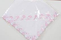 Крыжма флисовая теплая ( пеленка для крещения ) с капюшоном., фото 2