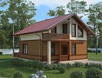 Канадский каркасный дом площадью 127 м2, фото 1