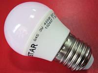 Лампа LED LEDSTAR 3W 255lm E27 нейтральный свет