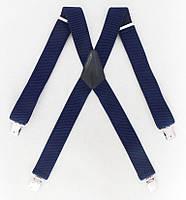 Широкие мужские подтяжки синие Topgal, фото 1