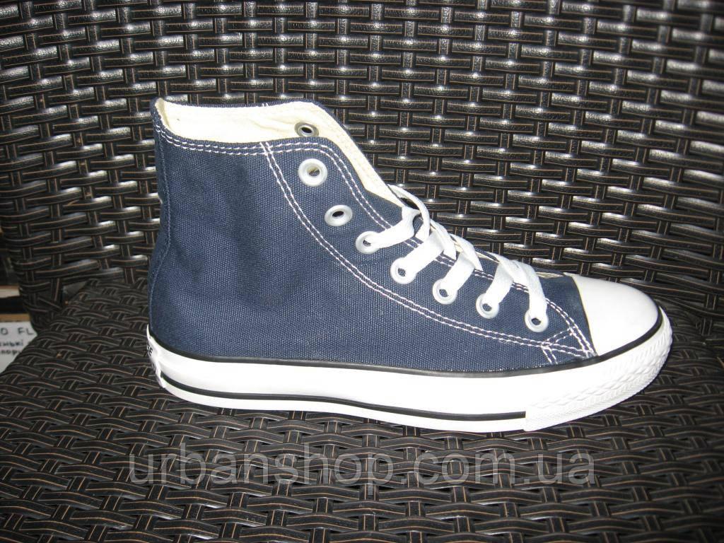 Купить Кеди Converse Chuck Taylor All Star High Blue (Navy) в ... acb931eb19e09