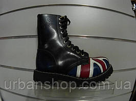 Ботинки STEEL 105/106O-FLA (черевики, кожа, шкіра)