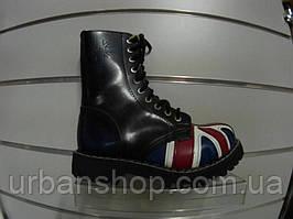 Черевики STEEL 105/106O-FLA (черевики, шкіра, шкіра)