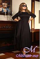 Женское длинное платье больших размеров (48-90) арт. Габби