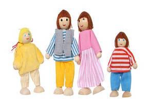 Игровой кукольный домик + 4 куклы, фото 3
