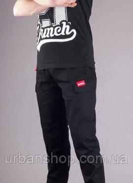 Штаны карго Punch Rush Black