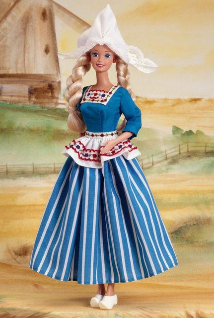 Коллекционная кукла Барби Dutch Barbie Collector Edition 1993
