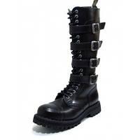 Черевики  STEEL 139/140OZ4P-BLK (шкіра, шкіра, черевики)