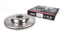 Тормозной диск передний рено меган 2 / Megane 2 / Clio  Микра 3 от 2002 (260x22)  Германия Daco 602280