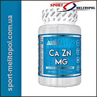 ACTIWAY Nutrition Ca Zn Mg 60 tabs