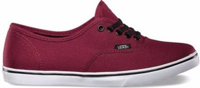 Купить Кеди Vans Authentic Slim Bordo в Интернет-магазине