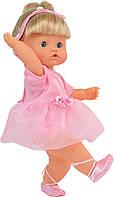 Говорящая кукла Bambolina Нена балерина 42 см с аксессуарами (украинский язык)