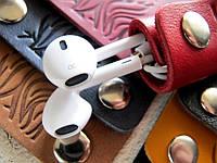 Затискачі, тримачі для навушників з натуральної шкіри Дика природа