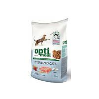 Сухой корм Optimeal (Оптимил) С индейкой и овсом для стерилизованных (STERILIZED) кошек 10 кг