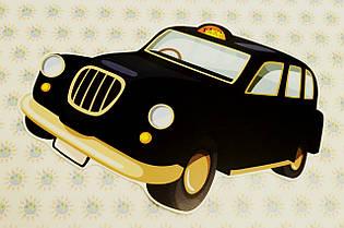 Такси. Настенная декорация