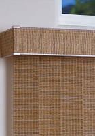 Вертикальные жалюзи из бамбука и джутовой ткани Крым.