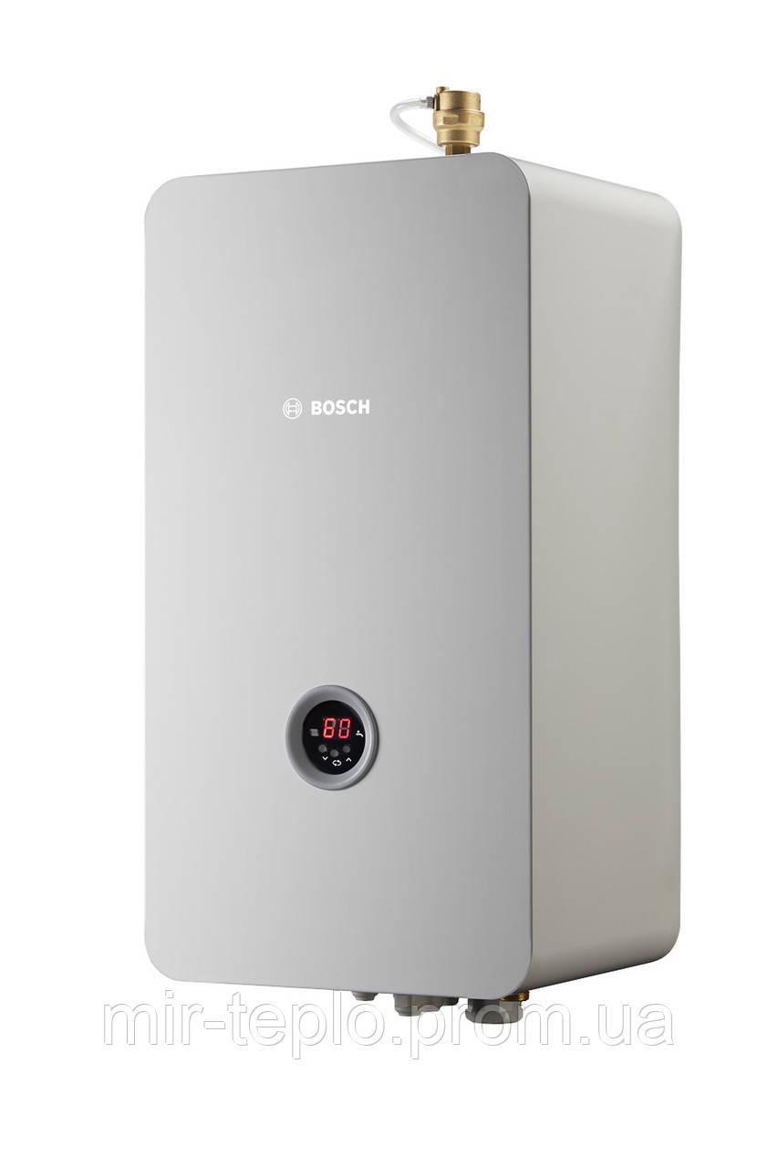 Котел электрический BOSCH Tronic Heat 3500 4kW ( 4 кВт. 380В., расширит.бак. Насос, датчик давления, двухступе