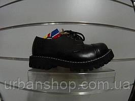 Туфли STEEL 101/102O-BLK (кожа, шкіра)
