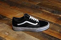 Кеди Vans Old Skool Black/White vans oldskool old skool кеды ванс венс чёрные чорні.