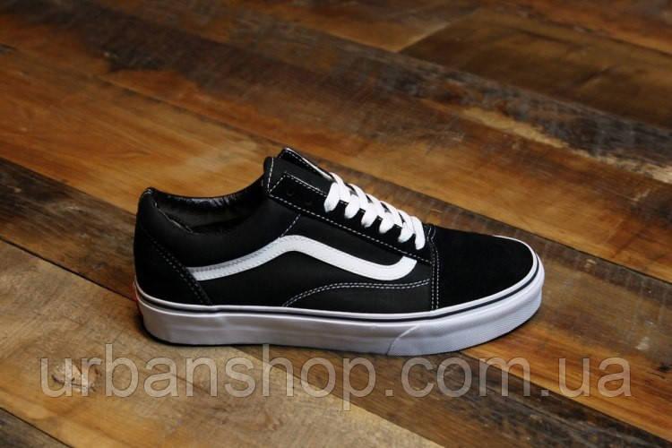 Кеди Vans Old Skool Black White vans oldskool old skool кеды ванс венс  чёрные чорні 89bd51120c8e2