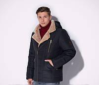 Стильная зимняя мужская куртка косуха