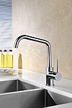 Кухонний змішувач Blue Water Seta chrom хромоване покриття, фото 4