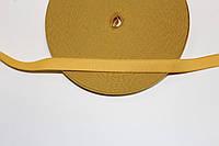 Резинка декоративная 15мм (25м) желтый